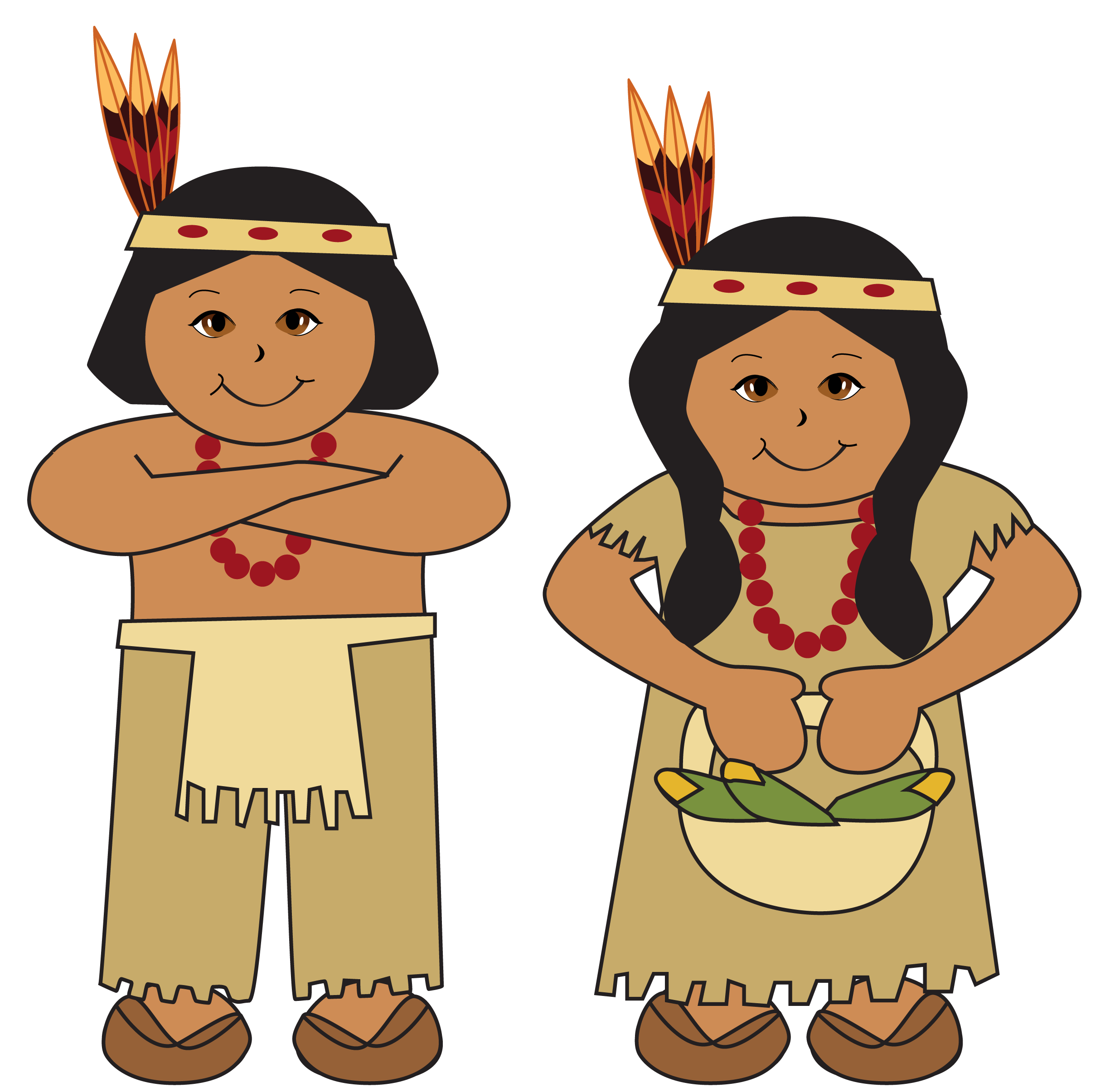 Native american clipart free 3 » Clipart Station.