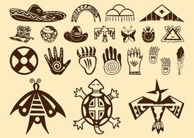 Free Native American Symbols Clipart and Vector Graphics.