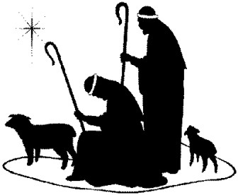 free silhoutte nativity scene patterns.
