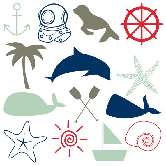 Free Nautical Clip Art.