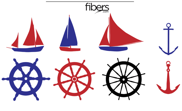 Free Nautical Vector Pack.