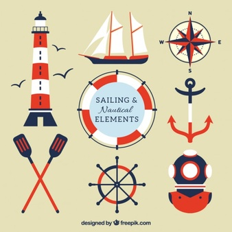 Nautical Vectors, Photos and PSD files.