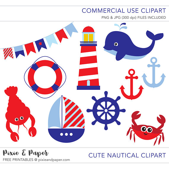 Nautical Clipart.