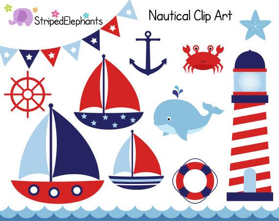 27+ Free Nautical Clipart.