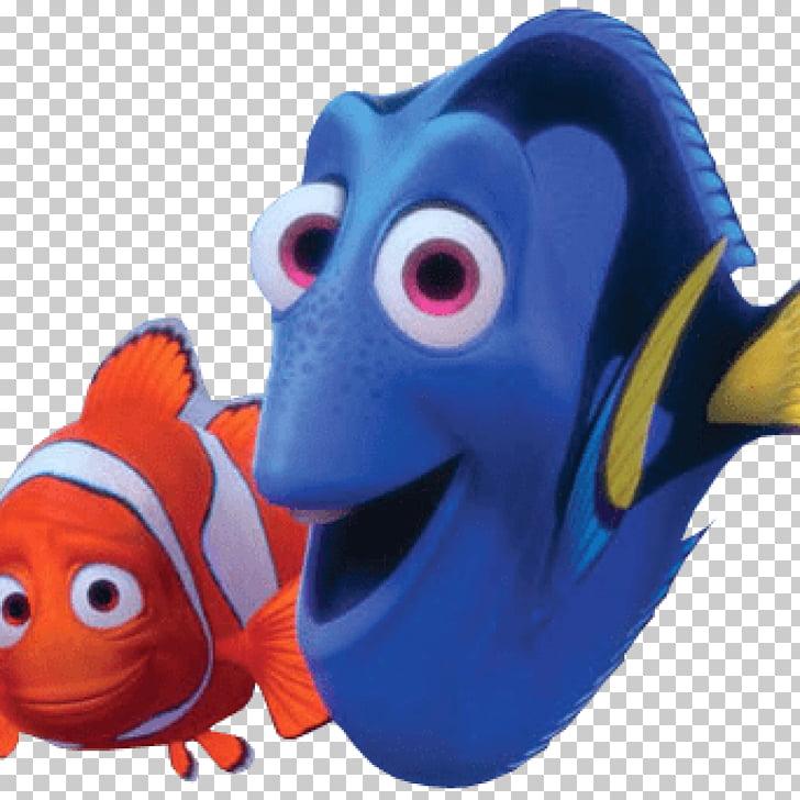 Marlin Finding Nemo Pixar, dory fish PNG clipart.