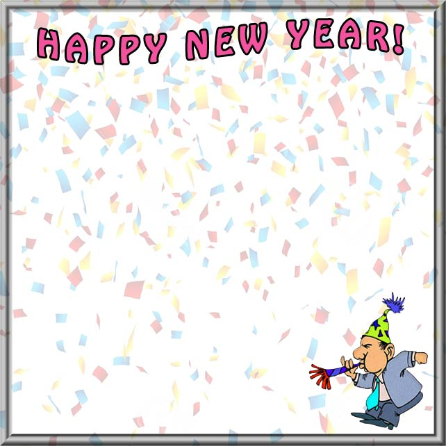 New year border clipart 5 » Clipart Station.