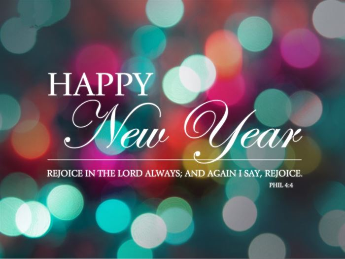 Free Religious Happy New Year Clipart.