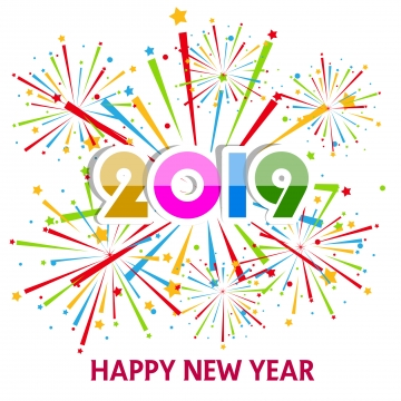 Happy New Year Png, Vector, PSD, and Clipart With Transparent.