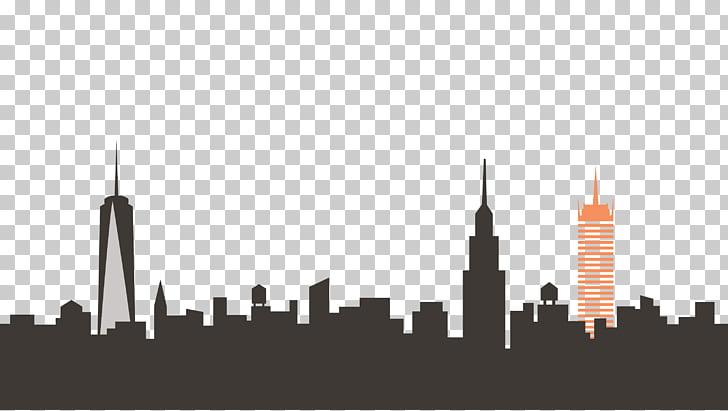 New York City Skyline , New York PNG clipart.