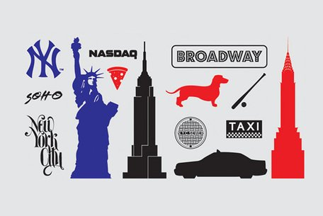 New York Icons & Silhouette Vectors (Free), Clipart.