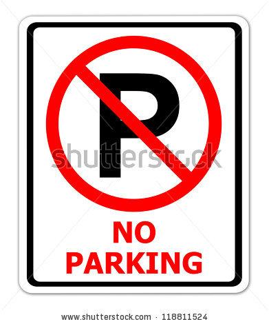 No Parking Sign Stock Photos, Royalty.
