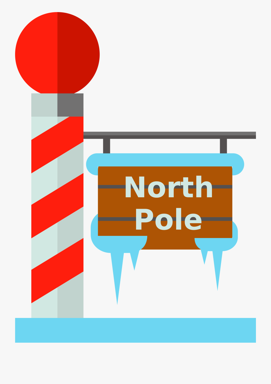Transparent North Pole Clipart.