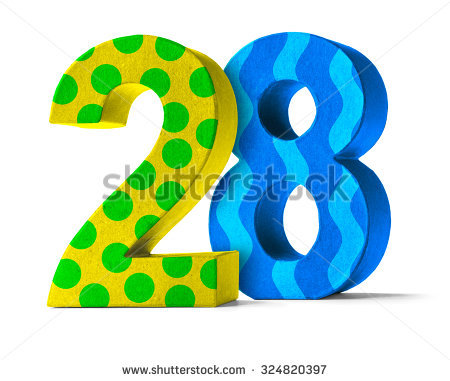 """28th Birthday"" Stock Images, Royalty."