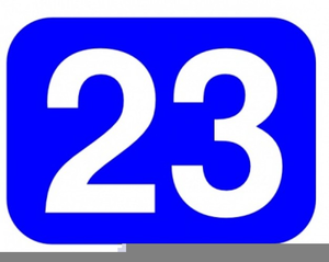Free Numbers Clipart For Teachers.