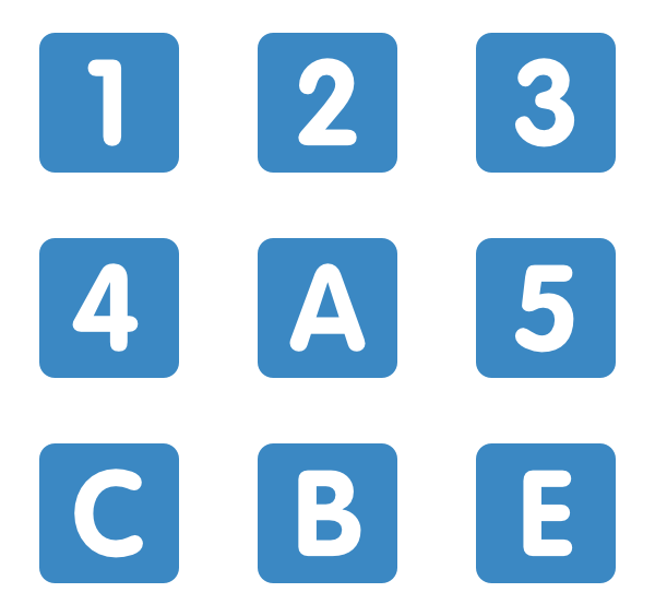 Numbers Icons.