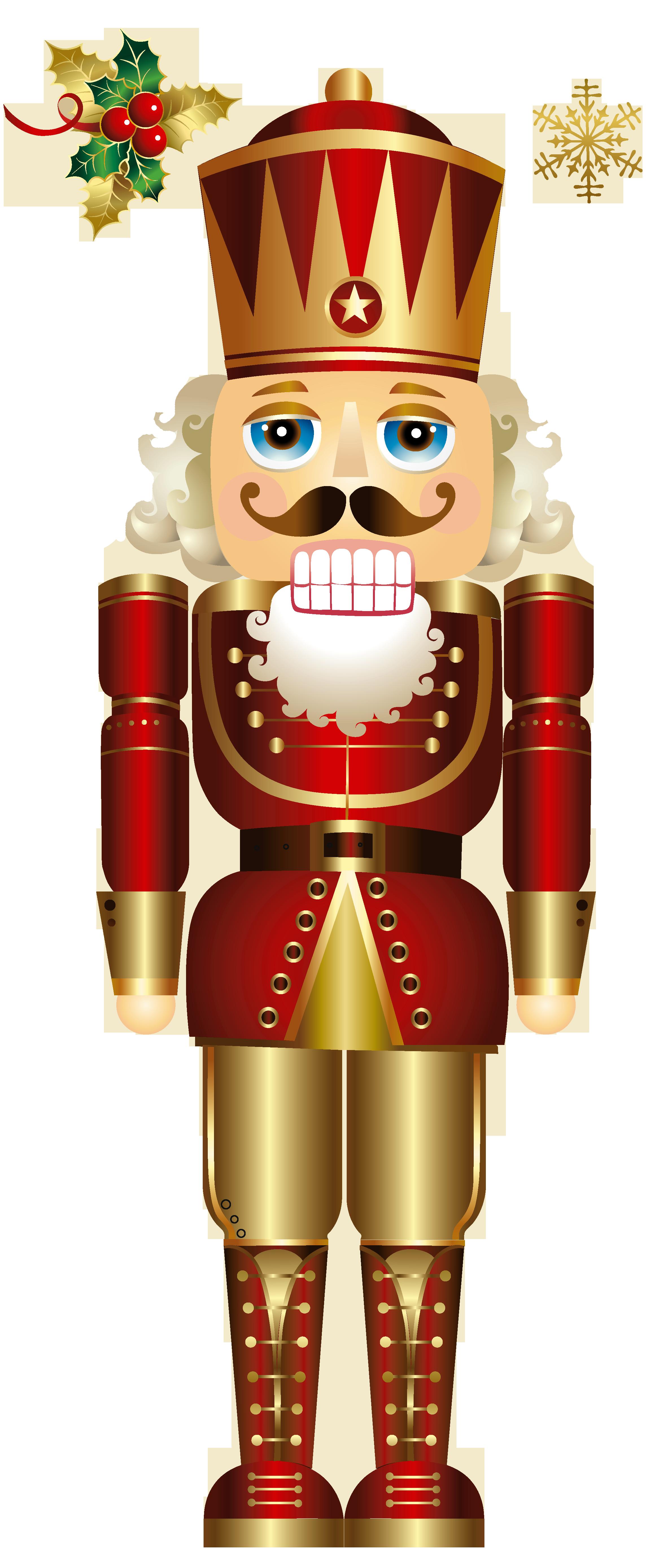 Free Christmas Nutcracker Clipart #1.