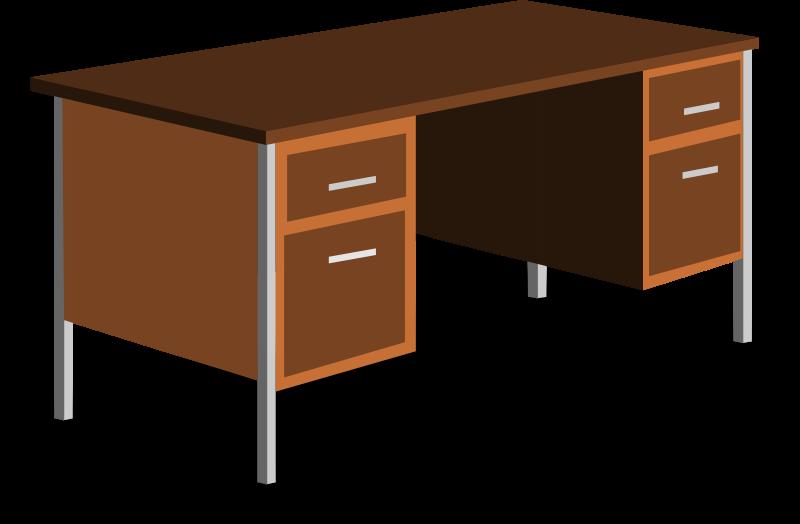 Free Clipart: An Office Desk.