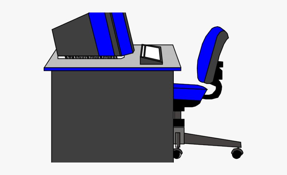 Office Clipart Office Desk.