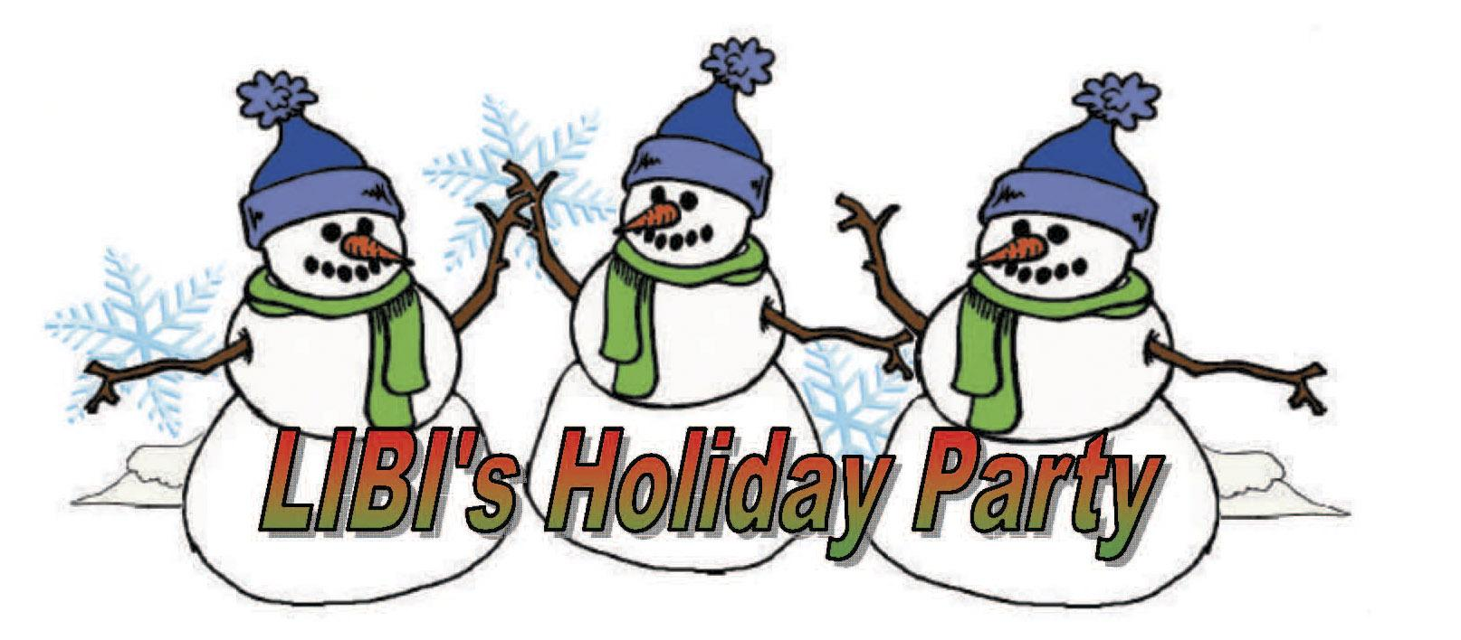 Holiday Party Clip Art.