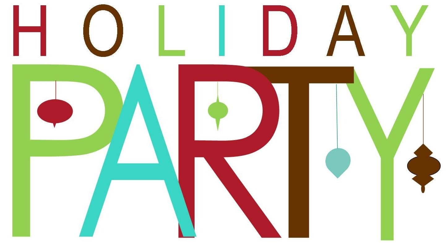 Office Holiday Party Clipart.