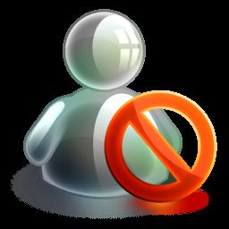 Blocked Offline Icon.