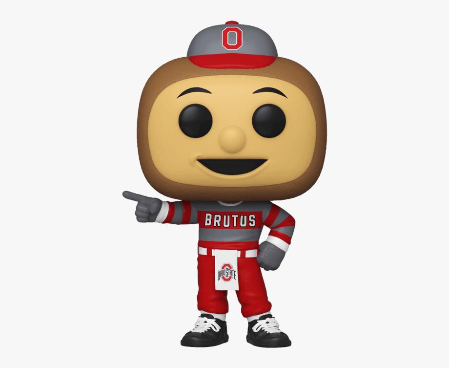 College Mascots Ohio State University Brutus Buckeye.