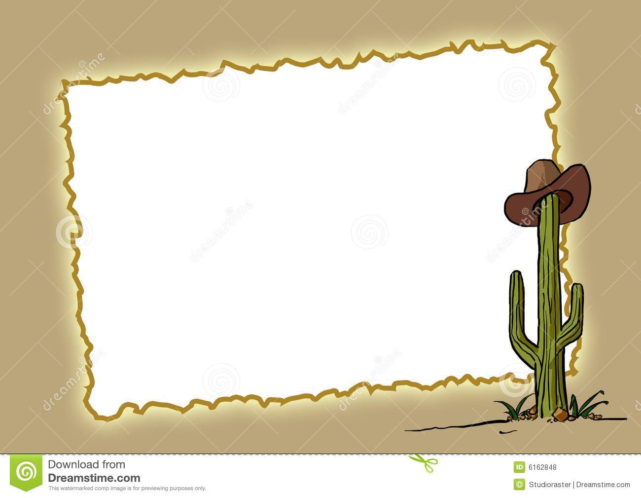 Western Clipart Background.