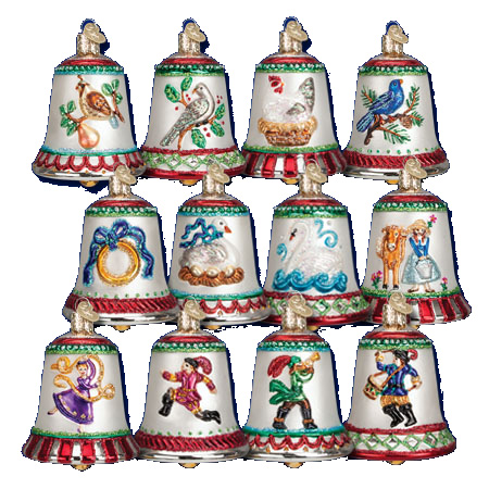 Old World Christmas Ornaments Assortment Sets.