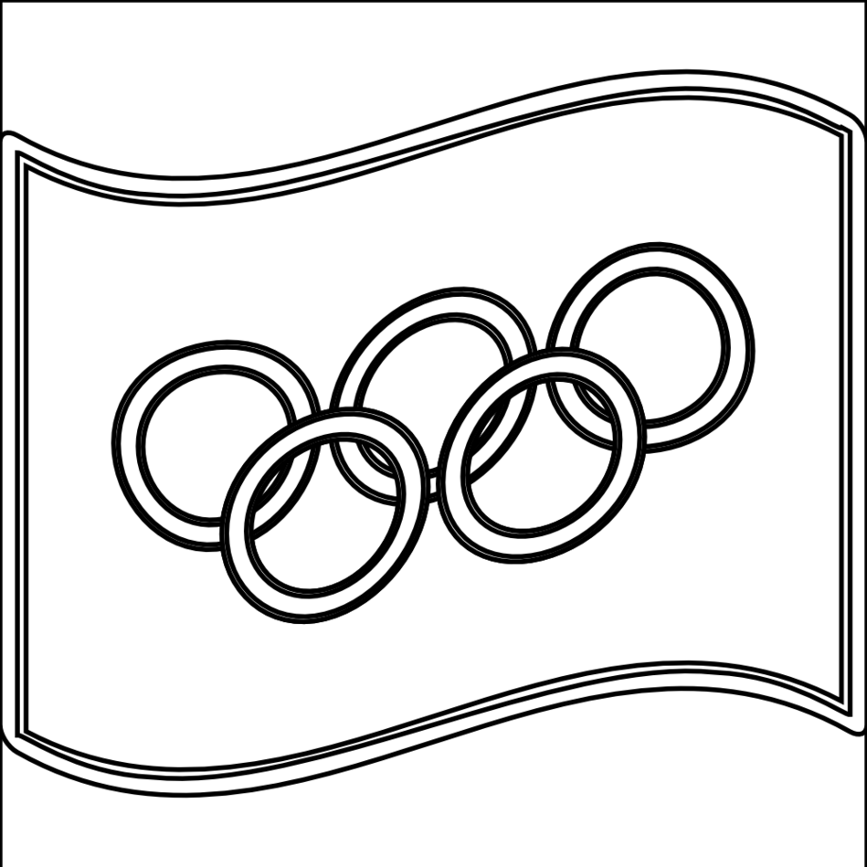 Nuvola Olympic Flag Flagartistcom SVG YouTube Facebook Clipart.