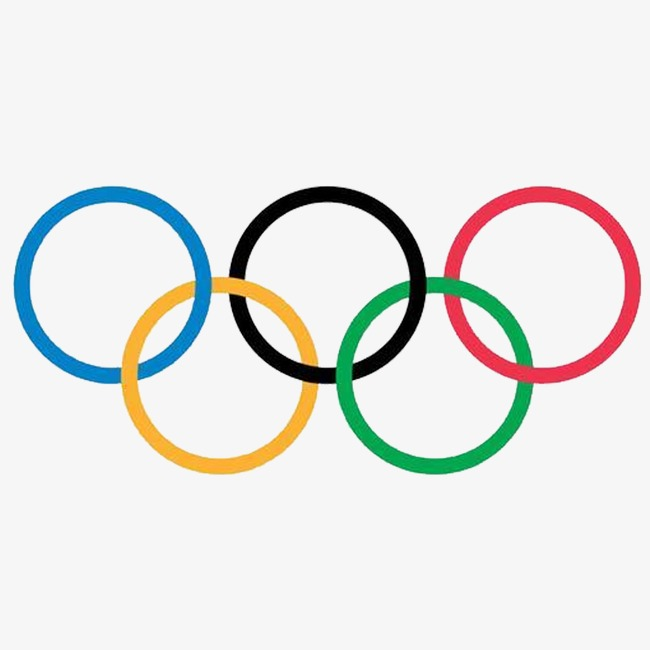 Olympic rings clipart free 2 » Clipart Station.