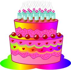 birthday cake with lots of candles clipart http://birthday.