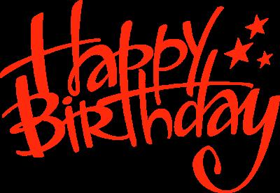 Happy Birthday Free Clipart.