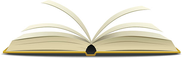 2631 Open Book free clipart.