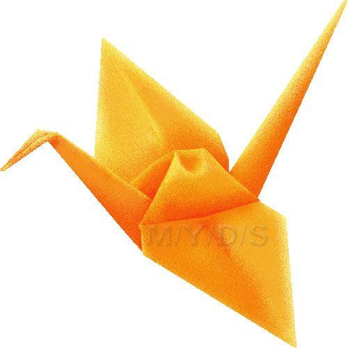 origami crane artwork.