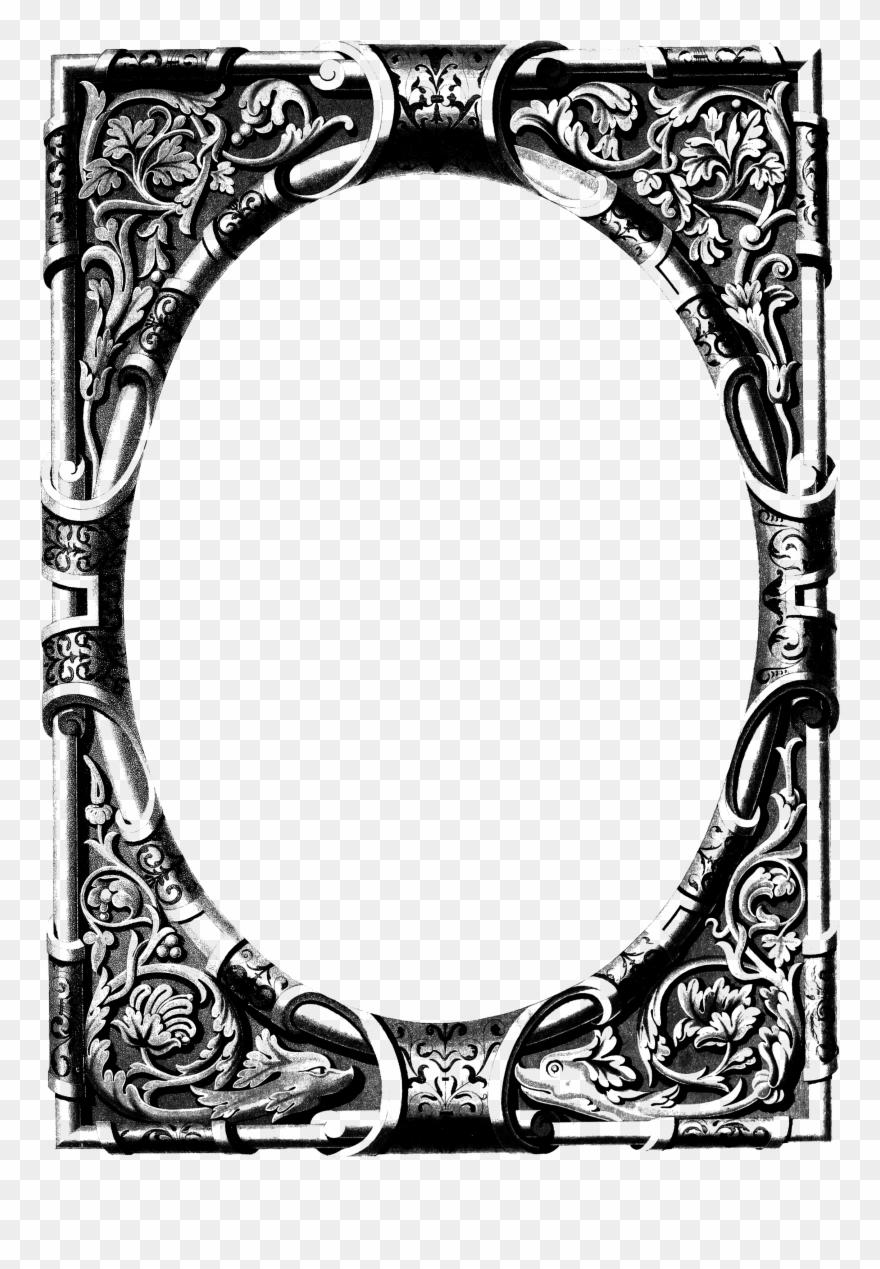 Free Vintage Image Ornate Frame.