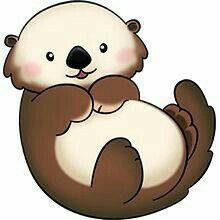 Top 96 Otter Clip Art.
