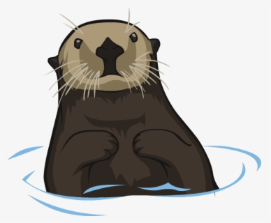 Free Otter Clip Art with No Background.