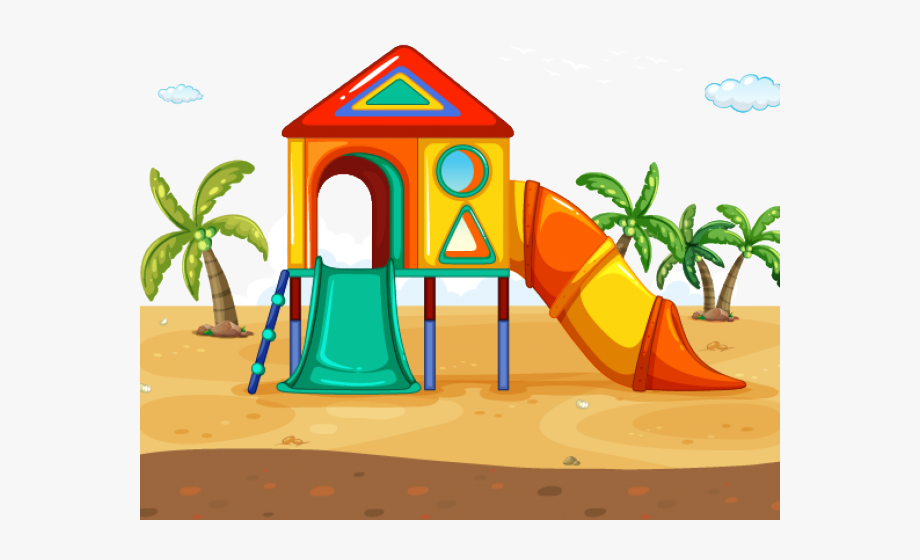 Outdoor Clipart Slippery Slide.