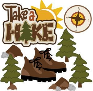 Free camping and hiking clipart free graphics images 3.