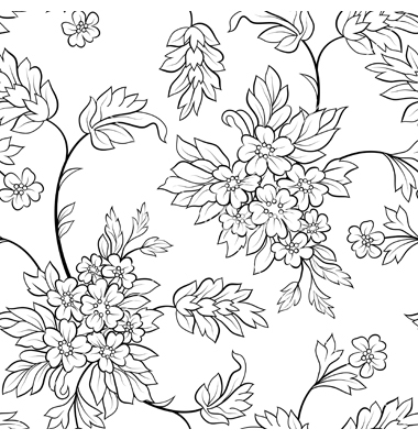 Free Outline Pictures Of Flowers.