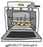 Baking Oven Clip Art.
