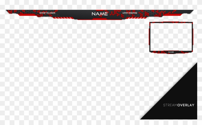 Stream Overlay Png Red , Png Download.