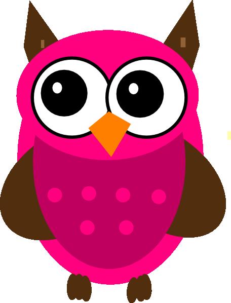 Baby Shower Pink Owl Clip Art at Clker.com.