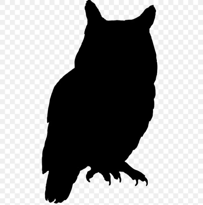 Owl Bird Silhouette Clip Art, PNG, 554x827px, Owl, Art, Beak.