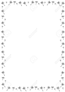 Free Holiday Page Border Clipart.