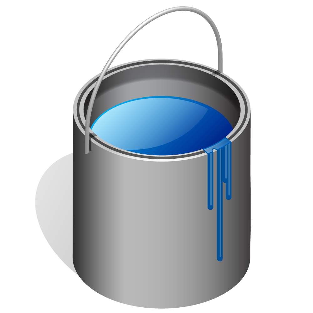 63+ Paint Can Clipart.
