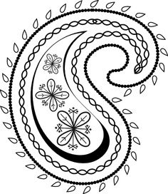 23 free paisley clip art..