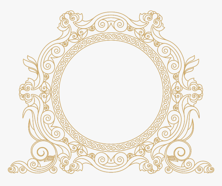 Transparent Paisley Pattern Clipart.