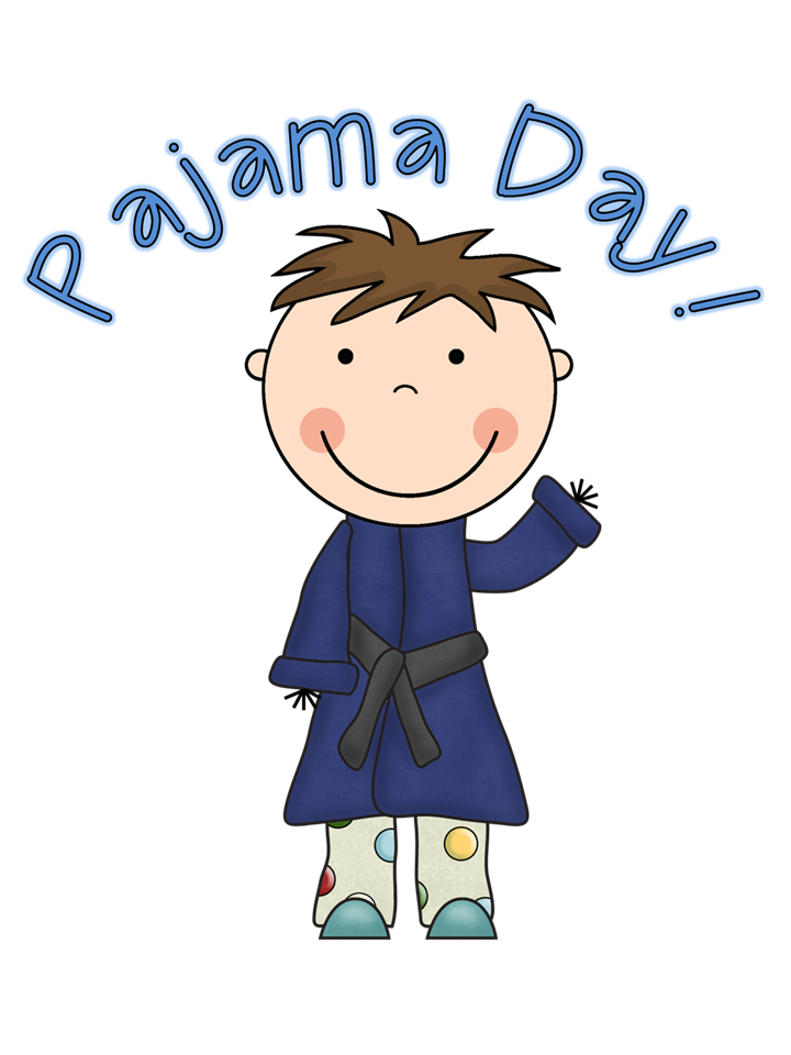 161 Pajama Day free clipart.
