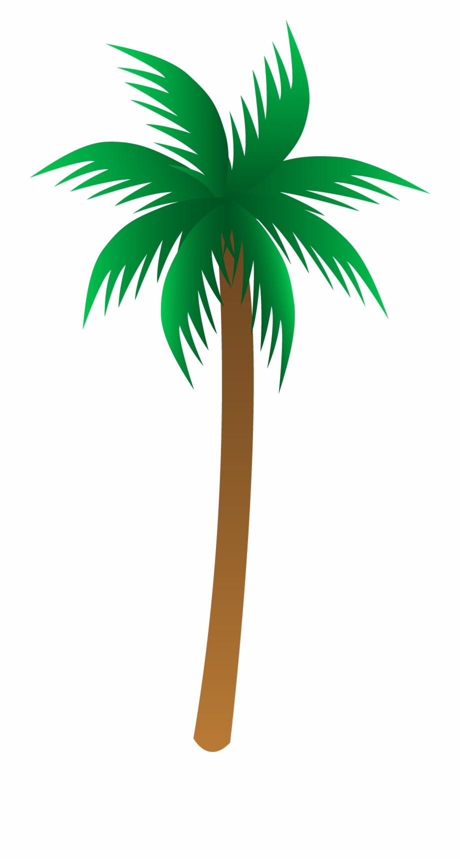 Simple Palm Tree Vector.